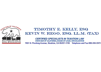 Stockton tax attorney Timothy E. Kelly, ESQ