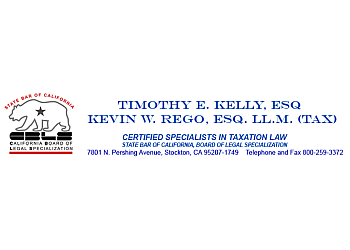 Stockton tax attorney Timothy E. Kelly, ESQ