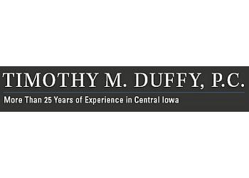 Des Moines dui lawyer Timothy Michael Duffy