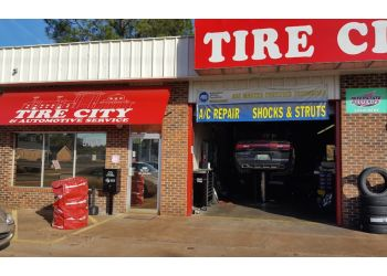 Montgomery car repair shop Tire City & Automotive Service