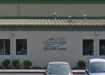 Tacoma auto body shop Titus-Will Collision Center