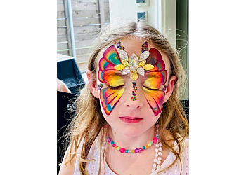 Fort Worth face painting Todays Balloons
