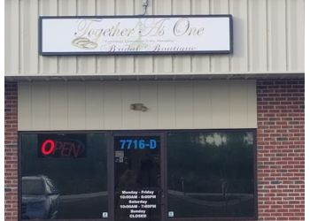 Fayetteville bridal shop Together As One Bridal Boutique