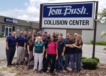 Jacksonville auto body shop Tom Bush Collision Center