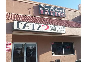 El Paso tattoo shop Tom Fooleries Tattoo