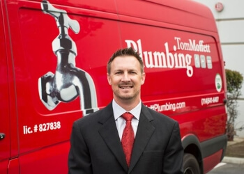 Anaheim plumber Tom Moffett Plumbing