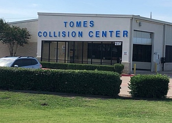 McKinney auto body shop Tomes Collision Center