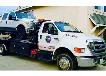Huntington Beach towing company Tommy's Towing & Transport