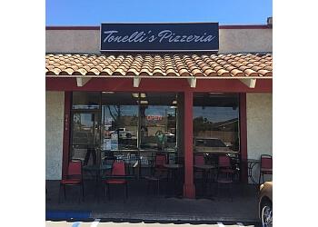 Huntington Beach pizza place Tonelli's Pizzeria