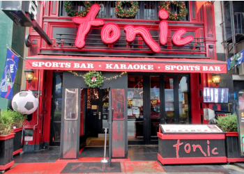 New York sports bar Tonic Times Square