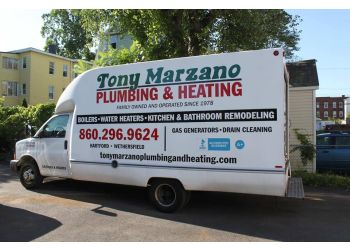 Hartford plumber Tony Marzano Plumbing & Heating Co. Inc