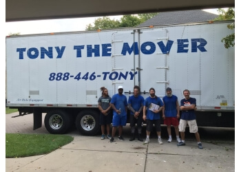 Sterling Heights moving company Tony The Mover, Inc.
