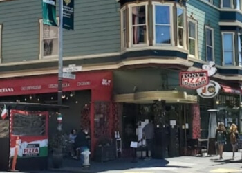 San Francisco pizza place Tony's Pizza Napoletana
