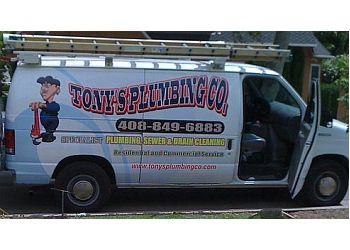 Santa Clara plumber Tony's Plumbing Co.