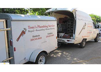 Modesto plumber Tony's Plumbing Service, Inc.