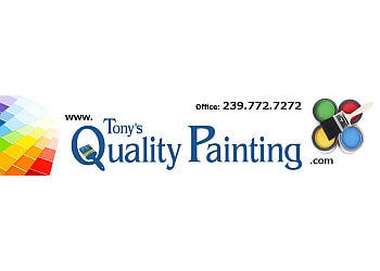 Cape Coral painter Tony's Quality Painting