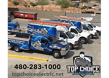 Chandler electrician Top Choice Electric
