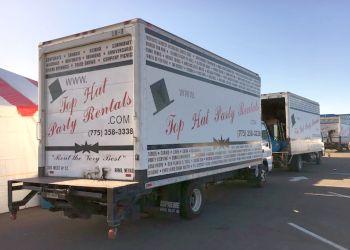 Reno event rental company Top Hat Party Rentals