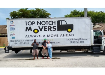 Pembroke Pines moving company Top Notch Movers Inc