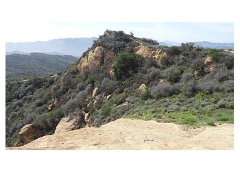Los Angeles hiking trail Topanga State Park