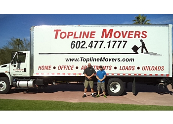 Peoria moving company Topline Movers