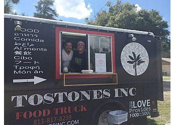 Tampa food truck Tostones Inc