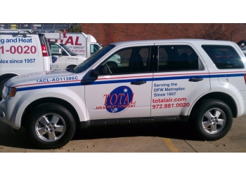 Plano hvac service TOTAL AIR & HEAT CO.