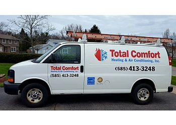 Rochester hvac service Total Comfort Heating & Air Conditioning Inc.