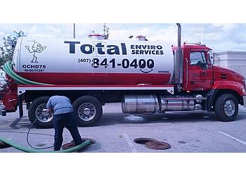 Orlando septic tank service Total Enviro Services, Inc.