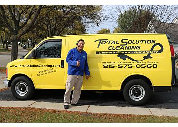 Elgin carpet cleaner Total Solution Cleaning & Restoration