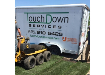 Joliet lawn care service Touch Down Services