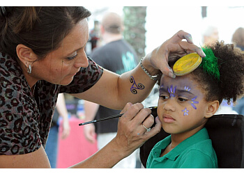 Jacksonville face painting Touch of Paint