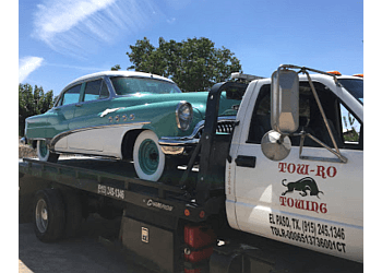 El Paso towing company Tow-Ro Towing