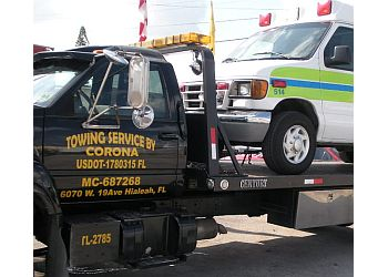 Hialeah towing company Towing Service By Corona