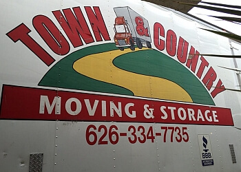 Fontana moving company Town & Country Moving & Storage