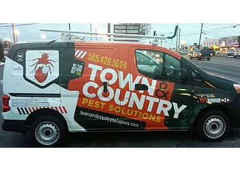 Rochester pest control company Town & Country Pest Solutions INC.