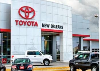New Orleans car dealership Toyota Of New Orleans