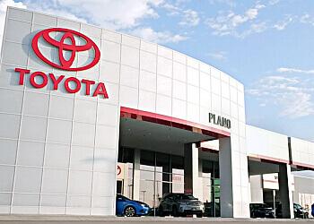 Plano car dealership Toyota Of Plano