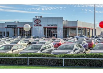 Fort Worth car dealership TOYOTA OF FORT WORTH