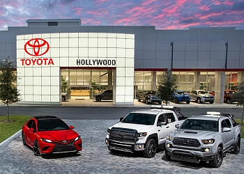 Hollywood car dealership Toyota of Hollywood