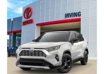 Irving car dealership Toyota of Irving