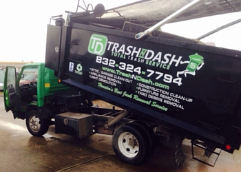 Houston junk removal Trash N Dash Total Trash Service