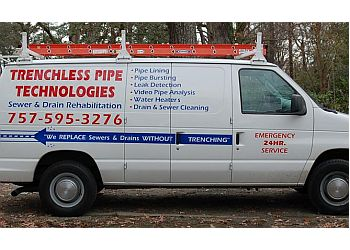 Newport News plumber Trenchless Pipe Technologies, Inc.