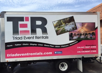 Greensboro rental company Triad Event Rentals