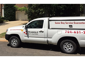 Charlotte pest control company Triangle Pest Control LLC.
