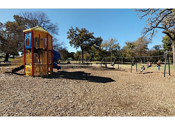 Fort Worth public park Trinity Park