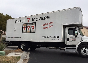North Las Vegas moving company Triple 7 Movers