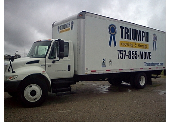 Norfolk moving company Triumph Moving & Storage, Inc.