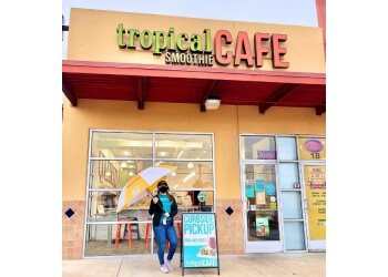 Augusta juice bar Tropical Smoothie Cafe