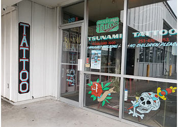 Tacoma tattoo shop Tsunami Tattoo